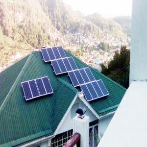 3KW 5 KW de energia solar todas as peças do Sistema Solar/Sistema Doméstico