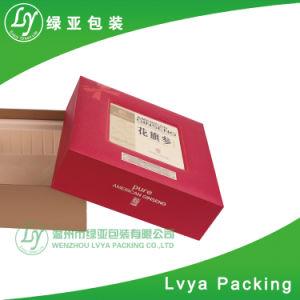 De uitstekende kwaliteit paste de Stijve Verpakkende Vakjes van de Gift van het Document van de Druk Cmyk aan