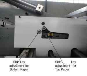 고속 자동적인 판지 상자 Laminator 서류상 박판으로 만드는 포장기