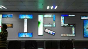 Transparante LCD VideoMuur