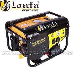 Portable 2kw de energía eléctrica del generador de gasolina con panel de pescado
