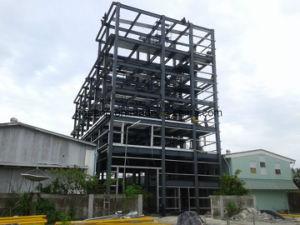 De Múltiples Pisos Ecológicos la estructura de acero de la construcción de edificio de la armadura de acero