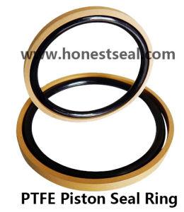油圧ピストンシールリングPTFEの青銅色のシールリングの油圧シール