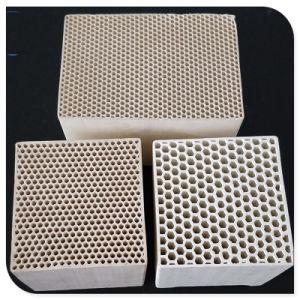 Favo de cerâmica de armazenamento térmico Rto/RCO de catalisador para recuperação de calor