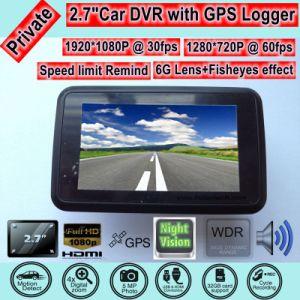 Kamerarecorder des Gedankenstrich-2.7 mit G-Fühler, Nachtsicht, volle HD1080p Kamera