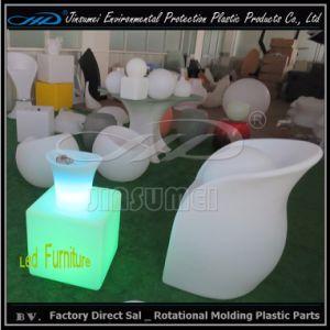 Mobilia di plastica della mobilia LED con il cambiamento di colori del LED 16