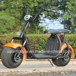 China-Lieferanten-heißer verkaufender fetter Gummireifen Citycoco /1500W 60V 20ah Harley Roller mit dem Cer genehmigt