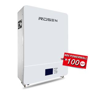 Rosen LiFePO4 de la batería 48V 100Ah batería de iones de litio SAE 48V