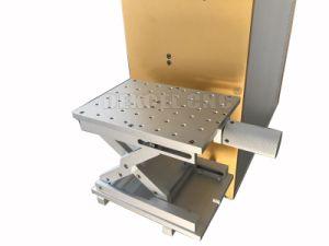 Портативный Jpt Mopa металла с ЧПУ цветовой маркировки волокна лазерный станок