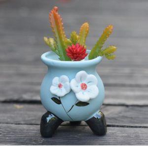 Простой стиль украшения керамические Flower Pot для продажи