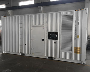 Cummins Generator의 1000kVA ISO Containerized 침묵하는