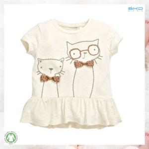 주문 크기 아기는 여자 아기 t-셔츠를 입는다