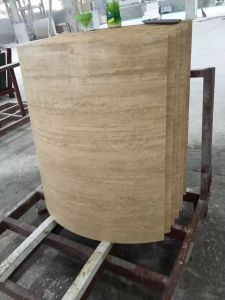 Losa de mármol del arco para el pilar de la columna