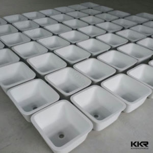 Kingkonreeの樹脂の石のUndermountの台所の流し