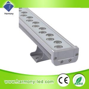 IP65 de alta potencia decorativa de pared de la barra de luz LED