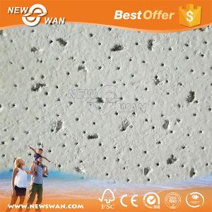 15mm Minerales / Falso techo acústico techo de madera