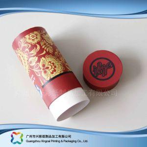 Embalaje de papel de regalo de lujo Tubo/ Café/ vino caja de embalaje (XC-PTP-010)