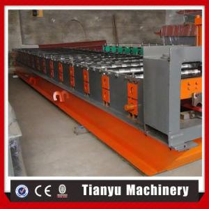 Type de panneau de toit de métal russe Tile Making Machine de formage de rouleau