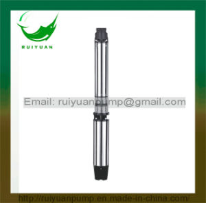 tiefe Vertiefungs-versenkbare Wasser-Pumpe der gute Qualitäts6sr