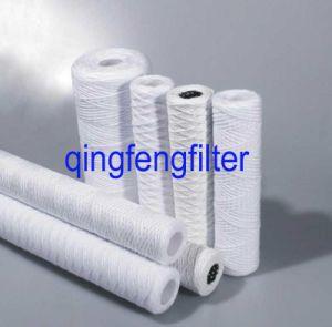 5um PP Herida de cadena de cartuchos de filtro de sedimentos para tratamiento de agua