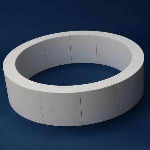 Haltbare Tonerde-keramische Zwischenlage für Rohrleitung (92% 95% Al2O3)