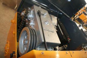 Het dubbele Wiel van het Staal van de Trommel de Mini TrillingsRol van 2 Ton (YZC2)