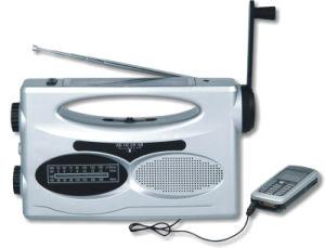 플래쉬 등 (GH-883A)를 가진 태양 다이너모 라디오