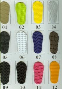 O solado de EVA (EVAS-0916) para as sandálias ou chinelos
