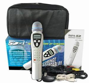 La magia registrabile canta lungo il video microfono di karaoke di deviazione standard (SD-1+)
