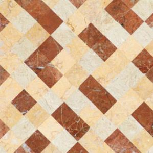 600x600mm Matériaux de construction composite de carreaux de marbre (L614)