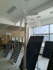 600 W de consumo da turbina gerador eólico