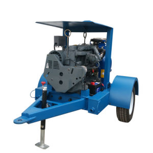 Vidanger le moteur diesel mobiles de l'assèchement de la pompe à eau