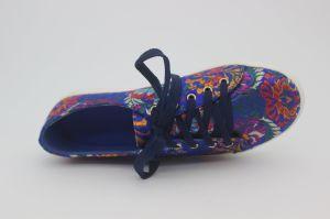 La mujer Deportes atléticos casual la ejecución de los formadores de la moda Sneakers zapatos