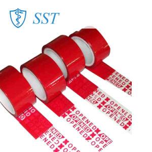 Besetzer-offensichtliches Sicherheits-Lücken-Band für Flasche