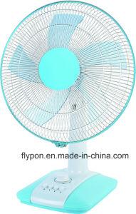 Kleur van de Ventilator van de Tribune van de Ventilator van de lijst de Witte/Zwarte voor Huis/Bureau FT40-705