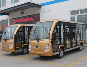14 assentos elevadores de boa qualidade Autocarro Turístico balcão de aluguer