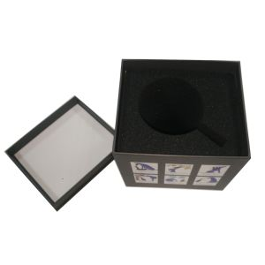 Carte grise personnalisé de haute qualité Coffrets cadeaux