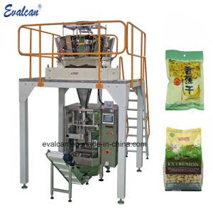 微粒のための縦形式の盛り土そしてシールの中央シーリング自動パッキング機械