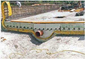 Het Einde van het Water van pvc voor de Installaties van de Behandeling van het Afvalwater