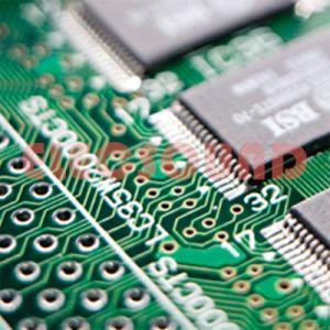 Placa de circuito impresso banhado a ouro