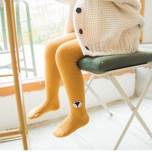 Mode de haute qualité de la broderie de filles de coton collant