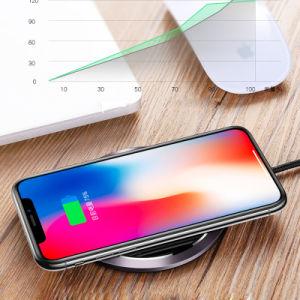 10W Fast Pad de carga inalámbrica Qi soporte cargador compatible con el Galaxy Note 9/8/5 S9/S9+ S8/S8+ S7/S7 Edge S6