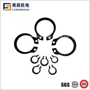 Anelli elastici del nero del acciaio al carbonio per l'asta cilindrica