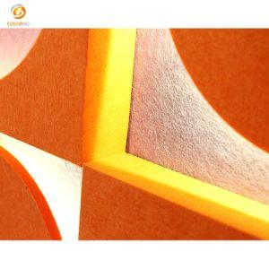 Polyester-Faser-umweltfreundlicher dekorativer akustischer heller Innenstreifen