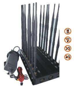 Krachtige Regelbare 16 Banden allen in Één Blocker van het Signaal van de Stoorzender van het Signaal Cellphone