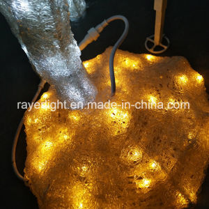 取り外し可能なデザインのCustmozedのクリスマスの照明のトナカイライト