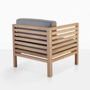Mobiliário de Jardim resistente a UV cadeira de madeira de Teca