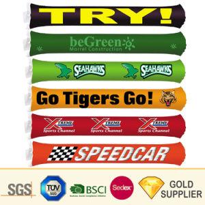 Venda quente Noisemaker Multicolorido Multifunção promocionais personalizadas torcendo Stick fãs de jogos desportivos de concertos e parte da TAP insufláveis toquecom o logotipo da marca