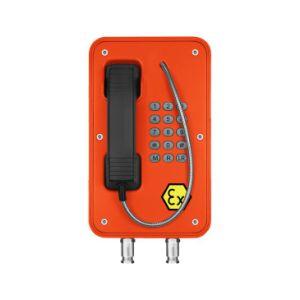 Hotline Explosionproof de alta qualidade robusta para a mina de carvão de telefone de emergência