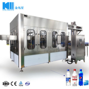 Glass Bottle 500mlのための小さいCarbonated Drink Filling Machine